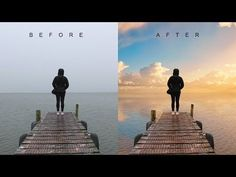 How to Change Overcast Photos into Awesome in Photoshop - Add Sunset to Boring Sky Easily & Quickly - YouTube