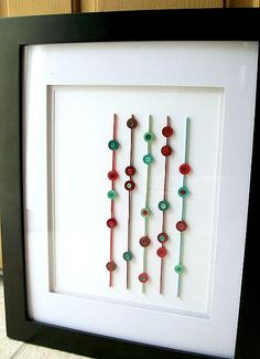 Quilled wall art by all things paper, via Flickr