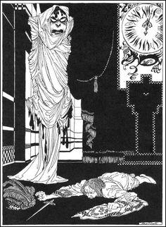 "Arthur Rackham (1867-1939), Illustration pour ""Tales of Mystery and Imagination"" d'Edgar Allan Poe - 1935"