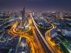 Bangkok highway by Coolbiere. A. on 500px