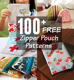 free zipper pouch patterns