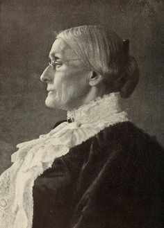 """Men, their rights, and nothing more; women, their rights, and nothing less."" Susan B. Anthony"