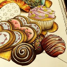 "Do you want some chocolates?The video of ""all about sweets"" has posted on my YouTube channel @Shirley_Tutopia Enjoy!! #thetimechamber #thetimechambercoloringbook #dariasong #sweets #allaboutsweets #coloriage #colouringbook #coloring #coloringbooks #colouringforadults #colouringforgrownups #colouringpencils #coloringbookforadults #adultcoloring #adultcolouring #adultcoloringbook #prismacolor #coloredpencil #shirleytutopia #coloringbook #coloringtherapy #coloringpencils"