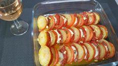 4 - Servir bien chaud dès la sortie du four en accompagnement d'une viande, ou avec une salade avec un rosé léger.