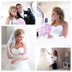 Hair and Nail Excellence. Bridal Hair. Bridal Make Up. Event Updos. Curl Upsweep.  Wedding Hair. Wedding Makeup