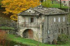 Foto  Daniele Guerri Autunno al mulino di domma - Pievepelago