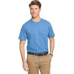 Men's IZOD Chatham Tee, Size: Medium, Blue Other