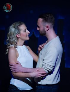 Kirby Hughes and Alistair Frederick as Claire & Jason in 'Ordinary Days LDN' (London Theatre Workshop & Edinburgh Fringe, Ordinary Day, London Theatre, London Photography, Edinburgh, Claire, Workshop, Portrait, Couple Photos, Couples