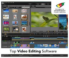 Top Video Editing Software On Pinterest Video Editing