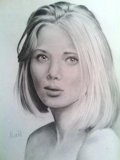 alicew #drawing #pencil #portrait