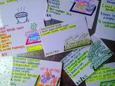 Organized Charm: How I Make Flashcards