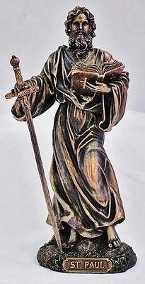 Saint Paul the Apostle beautiful religious Statue Birth Name : Saul of Tarsus Paul the Apostle, birth name Saul of Tarsus, was a Christian missionary who took the gospel of Christ to the first-century