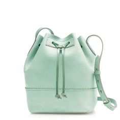 Mint Bucket Bag