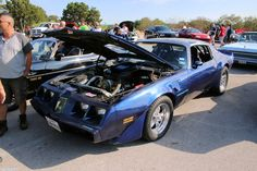 Pontiac Firebird Trans Am. As seen at the September 2015 Cars and Coffee show in Austin TX USA.