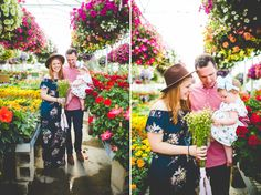 Creative Family Photographs in a Greenhouse Fayetteville Arkansas, Family Get Together, Family Photographer, Wedding Engagement, Family Photos, First Time, Cute Babies, Love Her, Photographs