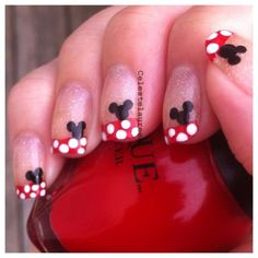 i like this one but with mickey only on one finger.