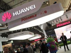 Huawei expande su mercado móvil. Mobile World Congress, Barcelona, Grow Taller, Thanks, Barcelona Spain