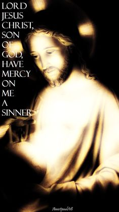 On ME a sinner, in Jesus name amen