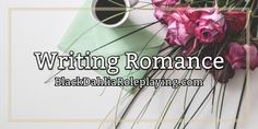 Ever wanted to write romance but couldn't find the right words to say? Or you don't know where to begin? Read our latest guide written by @Ashryn | graphic: @serendipity #guide #banner #romance #bdrp #blackdahliaroleplaying #roleplay Writing Romance, Black Dahlia, Beginning Reading, Serendipity, Writing Tips, Daily Writing Prompts, Emergent Readers