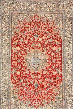 'Part-Silk' Nain,, 'Part-Silk' Nain, Persia, circa 30 years old, wool/part-silk/cotton, approx. 277 x 172 cm