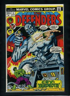 Defenders #5 F/VF 1973 Marvel Death of Omegatron Comic Book