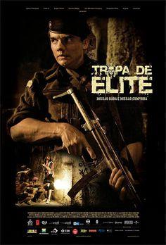 Poster - Tropa de Elite (Elite of the Squad - ENG) -  (NETFLIX Available!).