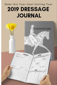 Calling All Dressage Goal Getters Be smart and strategic to reach your 2019 dressage training and competition goals using the 2019 DRESSAGE RIDERS JOURNAL – an all in one organizer for the horse rider and trainer, customized to dressage rider needs. Andalusian Horse, Friesian Horse, Arabian Horses, Dressage Horses, Draft Horses, Riding Horses, Riding Gear, White Horses, Horse Training