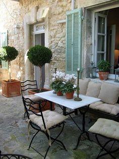Mesa exterior #exteriores #outdoors