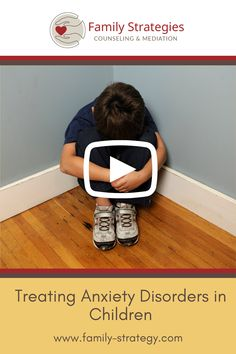 Treating Anxiety Disorders in Children . . . #playtherapy #anxiety #children #anxiouskid #familystrategies #counseling #mediation #therapy #mentalhealth How To Treat Anxiety, Anxiety In Children, Anxiety Disorder, Play Therapy, Disorders, Counseling, Mental Health, Therapy