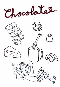 Day 21: Something you want. ¡¡Chocolate!!