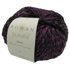 Rowan Purelife Renew , Black Sheep Wools