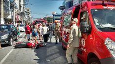 CIDADE: Cabo Frio - Acidente deixou o transito intenso no ...
