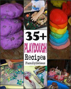 Playdough Recipes