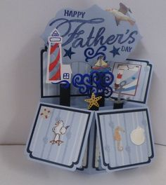 Pop up card for Father's Day