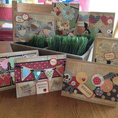 Scrap Buster cards