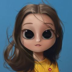 Super Ideas For Eye Painting People Cute Girl Drawing, Cartoon Girl Drawing, Cartoon Drawings, Cartoon Art, Cute Drawings, Joker Cartoon, Eye Painting, Painting People, Character Design Cartoon