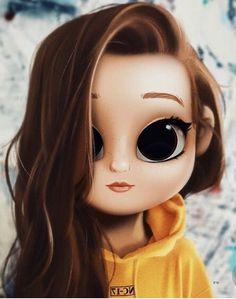Kawaii Girl Drawings, Cute Girl Drawing, Girly Drawings, Cartoon Girl Drawing, Cartoon Drawings, Cartoon Art, Cute Girl Wallpaper, Cute Disney Wallpaper, Cute Cartoon Wallpapers