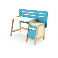 Písací stôl a skrinka Simple