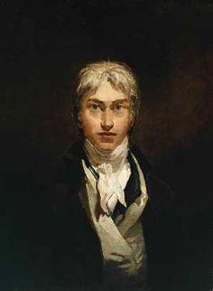 "Joseph Mallord William Turner, ""Self Portrait"", ca 1799. Tate Museum, London, United Kingdom."