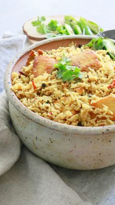 Weeknight Fish Biryani (with leftover rice) - Kitchen @ Hoskins