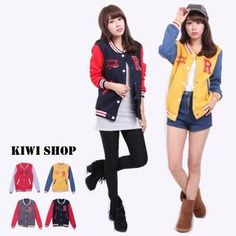 Buy 'Kiwi Shop – Color-Block R-Badge Baseball Jacket' at YesStyle.com plus more Taiwan items and get Free International Shipping on qualifying orders.