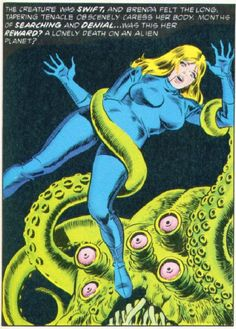 The funkier the comic books, the better! Weird stuff from the 50's or 60's...space madness, goofy covers, tentacle space porn LOL!