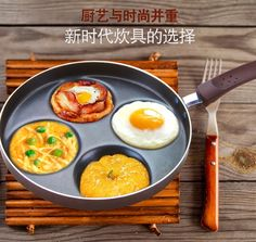 54.90$  Watch now - http://aliphb.worldwells.pw/go.php?t=32723720177 - Mini round mold non stick pot pot creative Fried Eggs dumplings