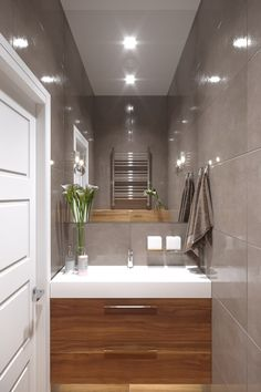 Hand towel location – Candle Making Bathroom Toilets, Bathroom Renos, Bathroom Layout, Bathroom Interior Design, Small Toilet Room, Guest Toilet, Small Bathroom, Cloakroom Toilet Downstairs Loo, Upstairs Bathrooms