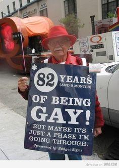 Haha I kinda love this protest sign