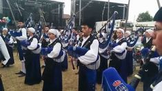 Banda de gaitas de Oviedo en las fiestas del Carbayu 2015