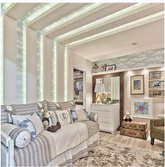 Tetos decorados – veja modelos de sancas, cores, iluminação e muito mais! - Decor Salteado - Blog de Decoração e Arquitetura