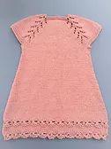 Ravelry: Vestido con flores pattern by maria del puerto fernandez Knitting For Kids, Knitting Projects, Baby Knitting, Knitting Patterns, Baby Sweaters, Baby Dress, Cute Babies, Knitwear, Knit Crochet