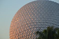 The great Spaceship Earth Epcot  Photo by Trish Kinnee March 2014