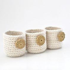 DIY-Crochet on Pinterest   Crochet Baskets, Hexagons and Crochet Stor…